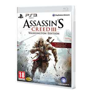 Assassins Creed III (Washington Edition) Ps3