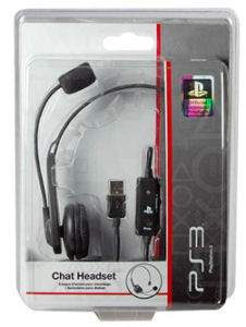 Auriculares Chat Headset Ps3 Usb