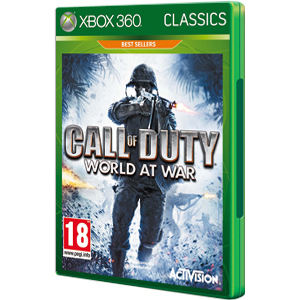 Call of Duty World at War Classic Xbox360