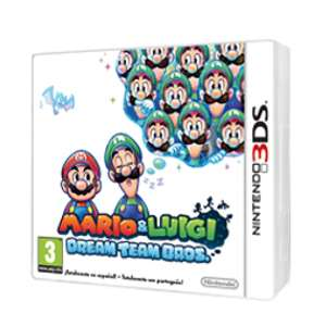 Mario & Luigi : Dream Team Bros 3DS