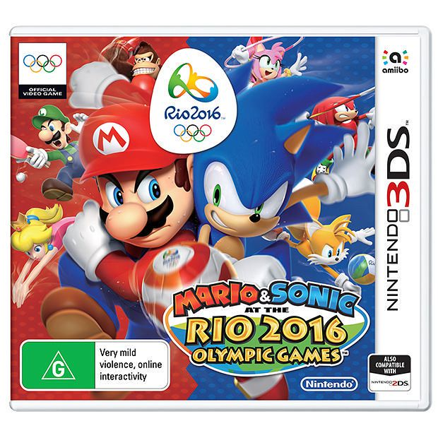 MARIO & SONIC RIO 2016 OLYMPIC GAMES  3DS