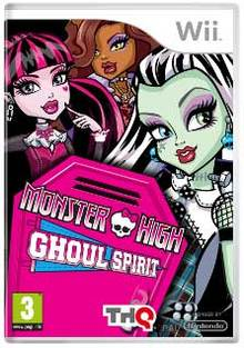 Monster High Instituto Monstruoso - Wii