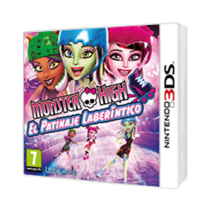 Monster High Patinaje Laberintico 3Ds