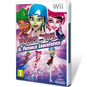Monster High Patinaje Laberintico - Wii