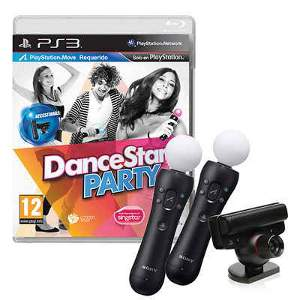 DanceStar Party (Move) + 2 Mando move + Camara - PS3
