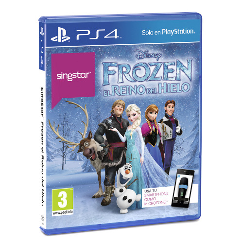 Singstar Frozen Ps4