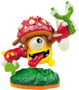 Skylanders Giants Figura LightCore Shroomboom