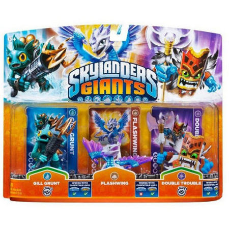 Skylanders Giants: Triple Pack D