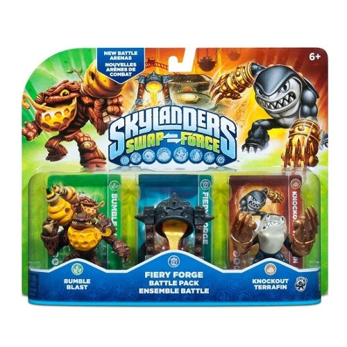 Skylanders: Swap Force Fiery Forge Battle Pack