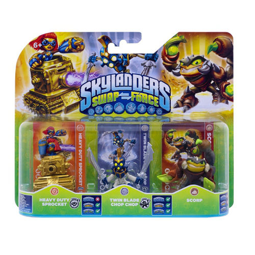 Skylanders: Swap Force - Triple Pack D
