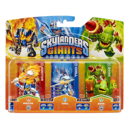 Skylanders Giants: Triple Pack B