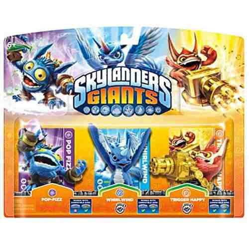 Skylanders Giants: Triple Pack A
