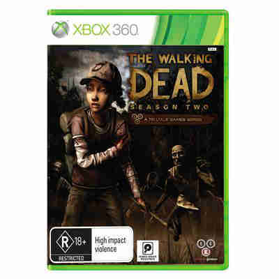 The walking dead Season Two - Xbox 360