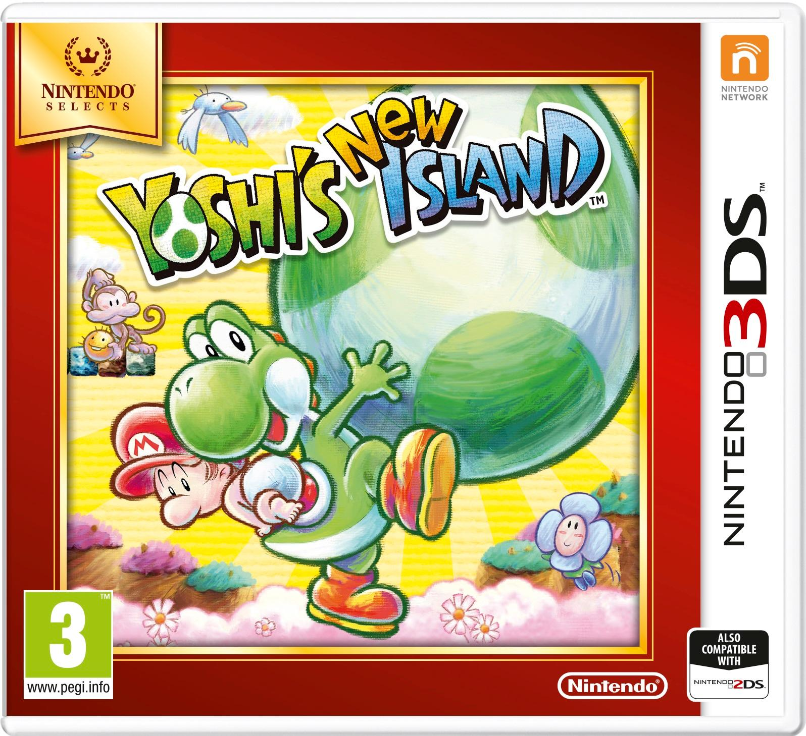 YOSHIS NEW ISLAND SELECT 3DS