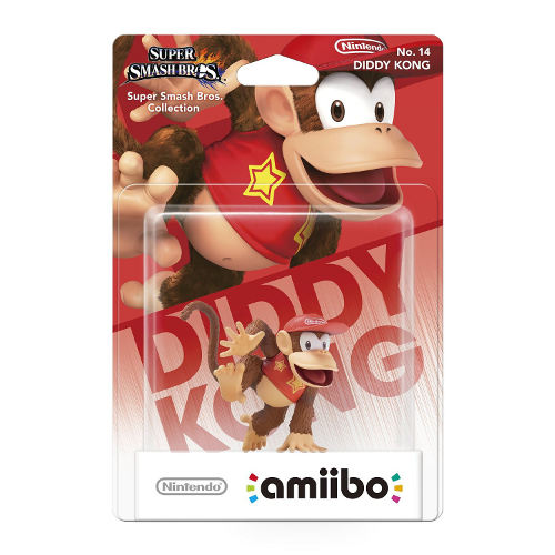 Amiibo Smash Diddy Kong