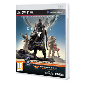 Destiny Edición Vanguardia Ps3