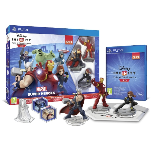 Disney Infinity 2.0 Marvel S.Heroes Ps4