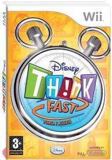 Disney Think Fast Wii