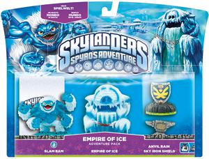 Skylanders Adventures Pack 3: Empire of Ice