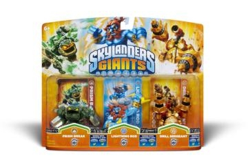 Skylanders Giants: Triple Pack E