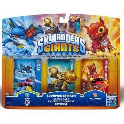 Skylanders Giants Scorpion Striker Battle Pack