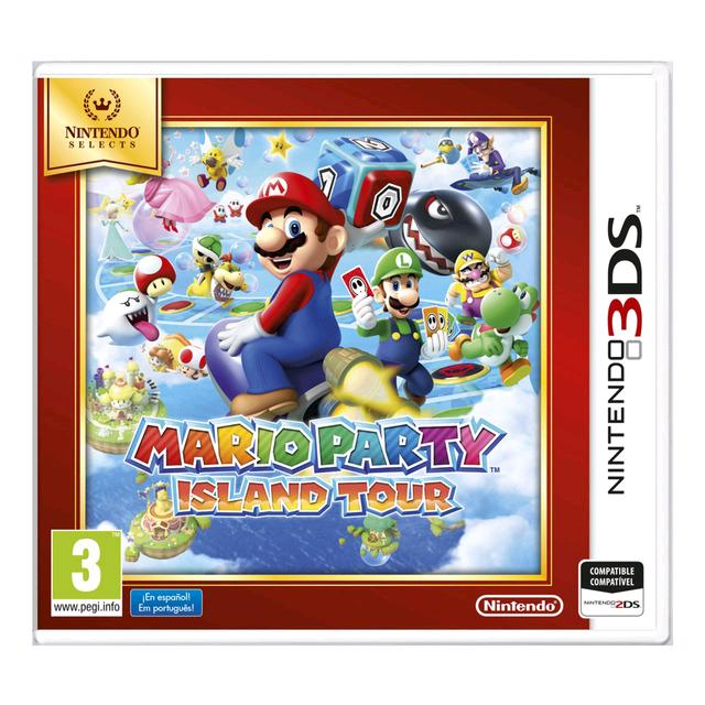 Mario Party Island Tour Selects 3DS 2DS