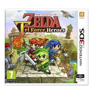 The Legend of Zelda: Tri Force Heroes 3DS 2DS