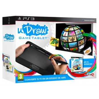 Udraw Tablet + Udraw Studio: Artista Al Instante Ps3