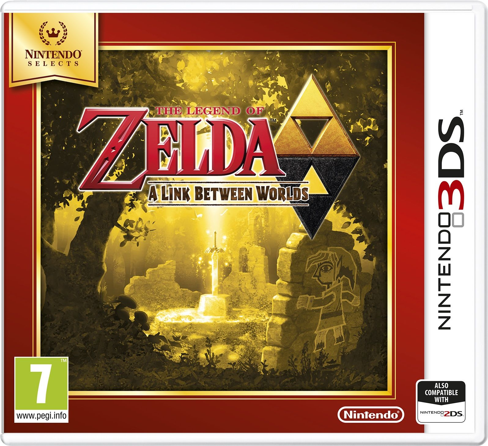 THE LEGEND OF ZELDA A Link Between Worlds Select 3ds